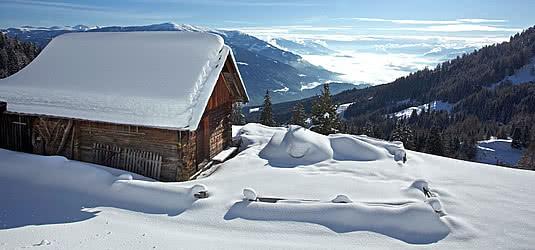 winterliche landschaft in krnten - Einrichtung Winterlich