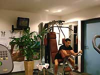 Beim Training im Fitnessraum