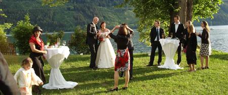 Ihre Hochzeit- Unser Seehotel exklusiv für Sie - Seehotel Postillion am Millstätter See in Kärnten