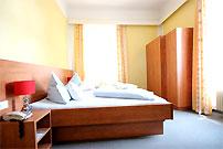 Vorschau: Doppelzimmer Ost-/Westseitig ohne Balkon in der Villa Postillion 20m2