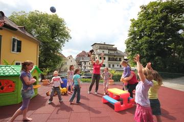Kinder- Spielterrasse