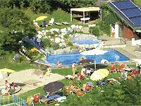 Familienhotel Post Garten mit Freischwimmbad